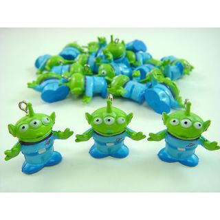 Toy Story Buzz Lightyear Alien Jewelry Making Figures Pendant Charm