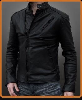 NEW 100% genuine Iron man leather jacket coat all sizes and colours
