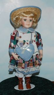 Vicky ~ Lovely Porcelain Doll From The Knightsbridge Collection!!!