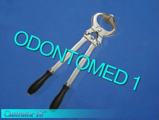 18 castrator burdizzo castration veterinary instruments time left $ 50
