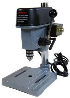 JEWELERS MINI SMALL TABLE MOUNT ELECTRIC PRECISION DRILL PRESS JEWELRY