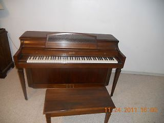 beautiful upright baldwin piano and bench time left $ 699