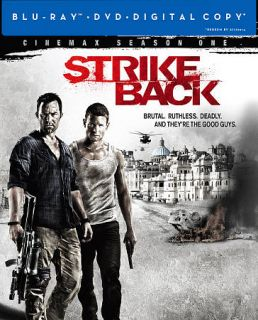 Strike Back Season One Blu ray DVD, 2012, 6 Disc Set