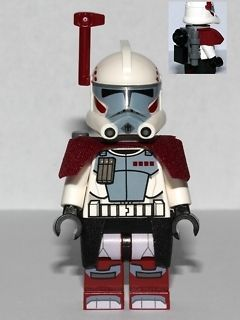 lego star wars arc trooper minifigure set 9488 new from