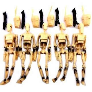 newly listed lot 5 star wars battle droid 2000 power