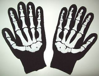 Bone Gloves Riding Work Halloween Skelton Storage Wars Barry Weiss