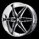 26 inch chrome rims wheels chevy gmc yukon suburban new