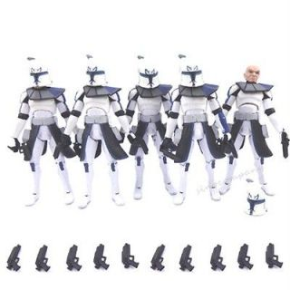 star wars clone trooper action figures in TV, Movie & Video Games