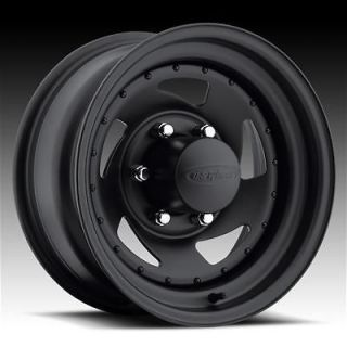 204 Series Stealth Blade Black Steel Wheels 15x14 8x6.5 BC Set of 4