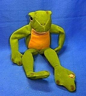 vintage german stuffed animal steiff frog bo from germany time