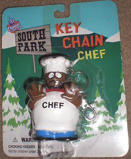 south park chef key chain 998 new time left $