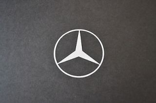 MERCEDES LOGO EMBLEM SPRINTER VITO SURF BUS CAMPER VAN WINDOW STICKER