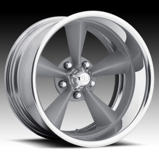 20 US MAGS Standard 2pc Wheel SET FOOSE Style RIMS PAINTED Silver