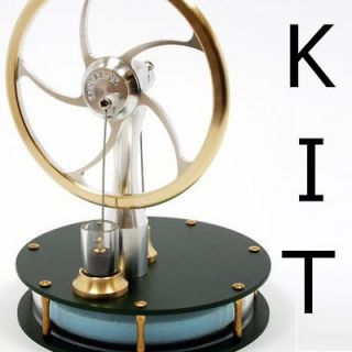 kontax black ultra low temperature stirling engine kit full assembly