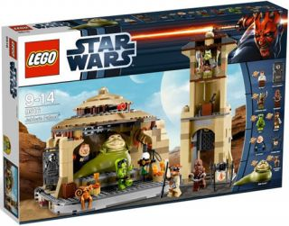 LEGO STAR WARS 9516 The Hutt JABBA's desert Palace NEW Factory