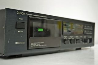 Newly listed Denon Stereo Cassette Deck Tape Player Recorder DR M07