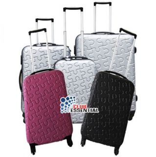 Modern Hard Shell Luggage Travel Trolley Suitcases Bag Bags Set HDA291