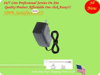 AC Adapter For Sylvania SYNET07WICV Mobile Smartbook Netbook Power