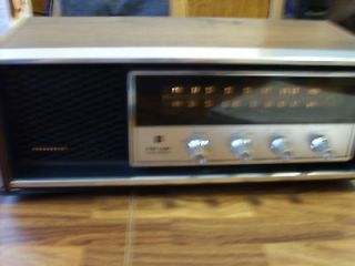 vintage panasonic table radio time left $ 15 00 0