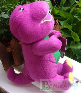 NEW COOL HAPPY BARNEY & FRIENDS Barney the Dinosaur 10 Plush doll