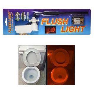 Newly listed Flush Light Bathroom Toilet Nightlight Handle Arm Button