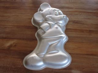 1978 wilton mickey mouse cake pan full body retired time