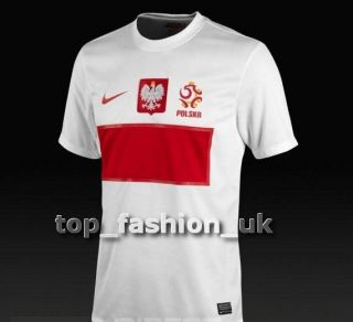 POLAND home shirt  * NIKE * brand new  AUTHENTIC JERSEY 2012 2013