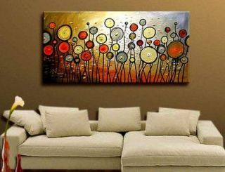 MODERN ABSTRACT HUGE LARGE CANVAS ART OIL PAINTING (no framed