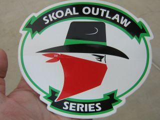 SKOAL BANDITSKOAL OUTLAW SERIES LARGE 6.25IN DECAL RARE