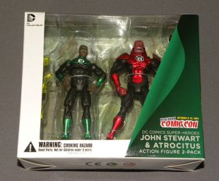 Lantern Exclusive 2 Pack Action Figure Set John Stewart & Atrocitus