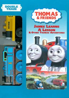 Thomas Friends   James Learns A Lesson DVD, 2009, With Double Toy