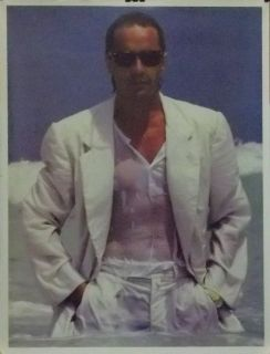 don johnson 18x23 ocean close up poster miami vice one
