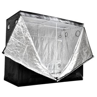 96X48X78 Hydroponics Grow Tent 600D Room Mylar Indoor Cabinet Hut