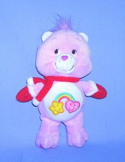 Care Bears Best Friend Bear Holiday Helper 7 Bean Bag Plush