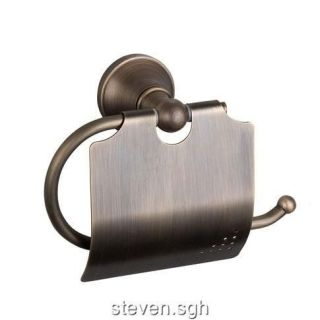antique brass bathroom toilet paper roll holder h 03 from