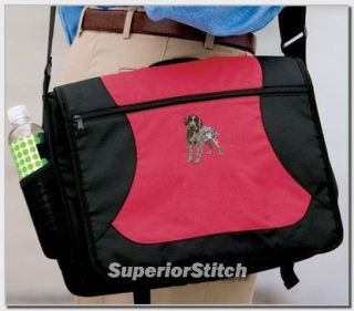 wirehaired pointing griffon messenger bag any color time left $
