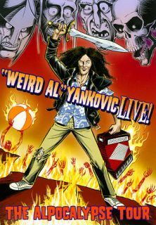 Weird Al Yankovic Live   The Alpocalypse Tour DVD, 2011