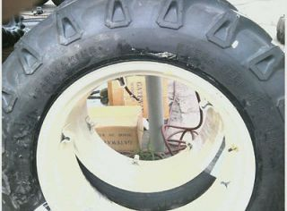 ONE 13.6X28,13.6 2​8 FORD TRACTOR 8 ply Tractor Tire w/6 Loop Wheel