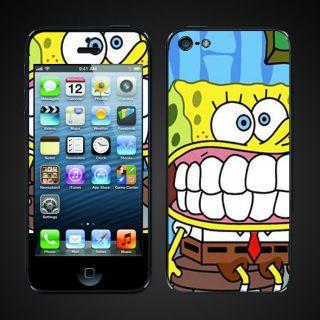 iphone 5 vinyl Skins Kit   Spongebob Square pants Sponge Bob
