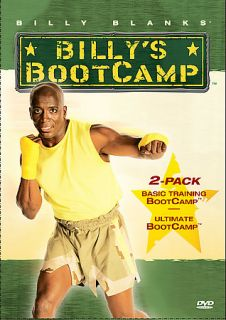 Billy Blanks   Basic Training Ultimate Bootcamp DVD, 2005, 2 Disc Set