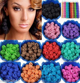 Mix 14color wholesale lot Basketball wives earrings Spacer Mesh Beads
