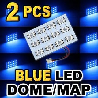 Super Bright Blue 12 SMD LED Dome Map Interior Light #H12