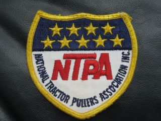NATIONAL TRACTOR PULLERS ASSOCIATION INC NTPA SEW ON PATCH