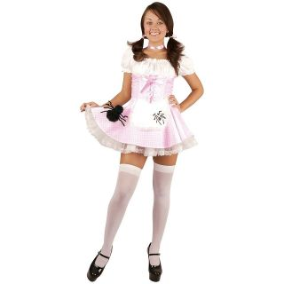 Miss Muffett Teen Junior Preteen Tween Nursery Rhyme Halloween Costume