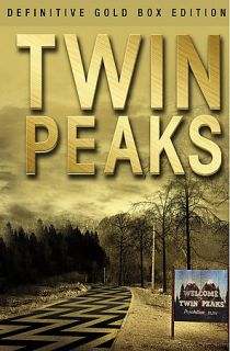 Twin Peaks   The Definitive Gold Box Edition DVD, 2007, Checkpoint