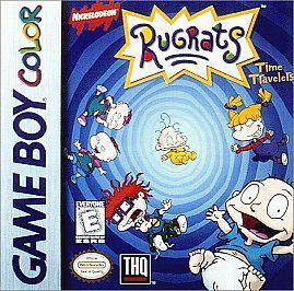 Rugrats Time Travelers Nintendo Game Boy Color, 1999