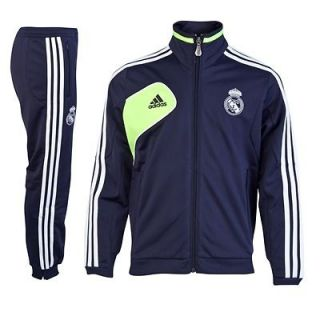ADIDAS REAL MADRID PRESENTATION TRACKSUIT 2012 13 KIDS 100% AUTHENTIC