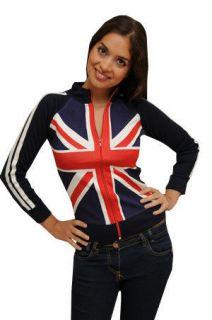 union jack jacket in Clothing,