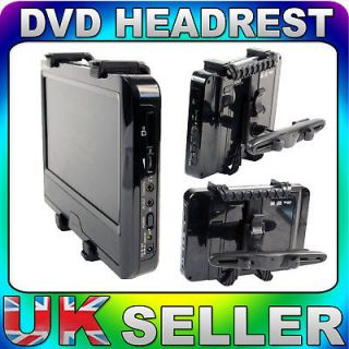 portable headrest dvd player in TV, Video & Home Audio