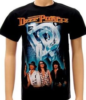 deep purple heavy metal hard rock band men t shirt sz m
